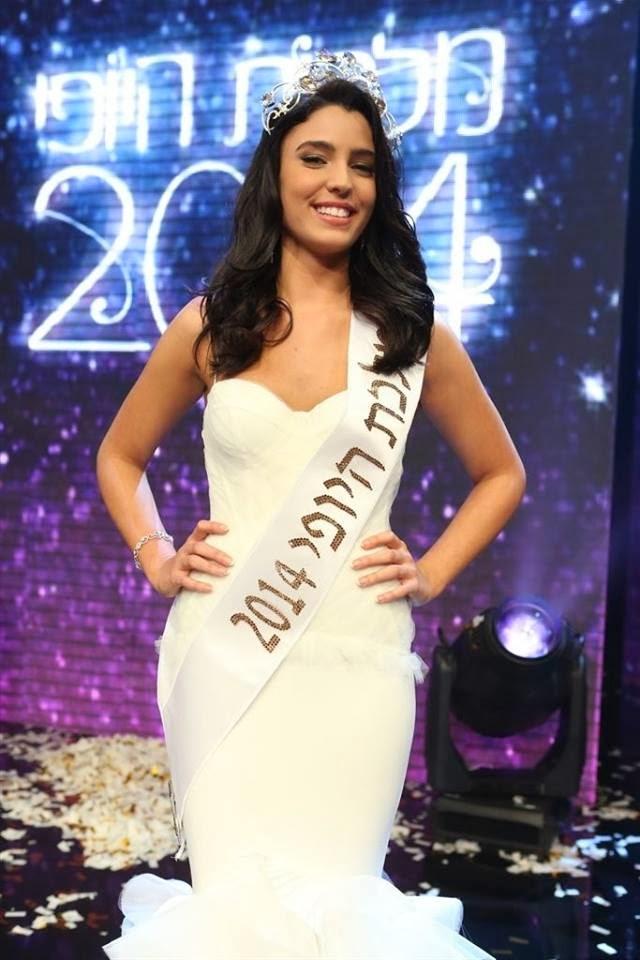 Miss Israel 2014 Malkat Hayofi winner Mor Maman