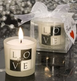 Beautiful Wedding Candle