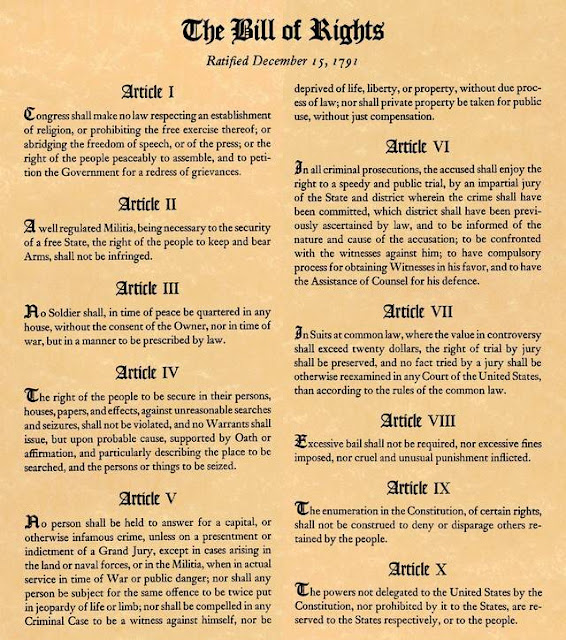 the importance of the first amendment of the bill of rights Find out more about the history of bill of rights, including videos, interesting articles,  a partial list would include the first amendment's rights of speech,.