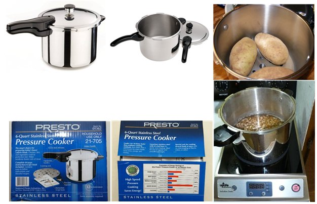 Presto 01362 Stainless Steel Pressure Cooker for sale