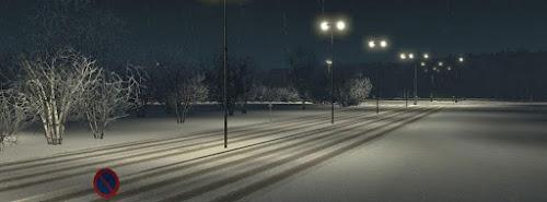 ETS2 Mod - Inverno e Neve V.1.4 Para V.1.26.X By: Grimes