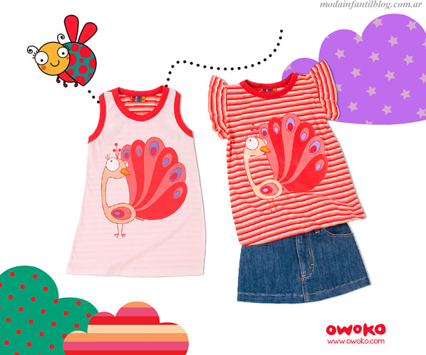 moda infantil verano 2014 owoko
