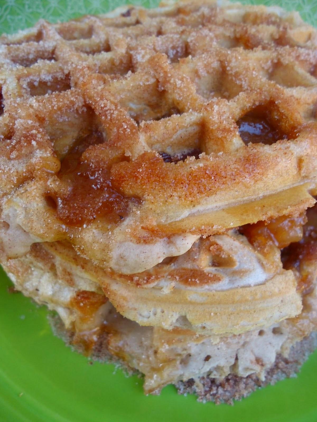 Apple Pie Churro Waffles Recipe