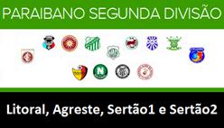 Tabela e classificação do Campeonato Paraibano Série B