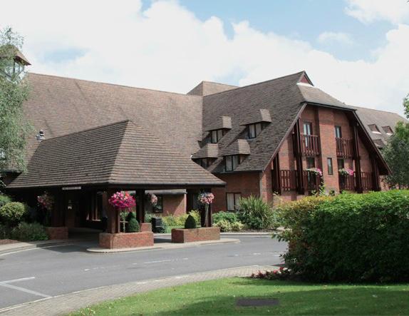 Solent Hotel entrance