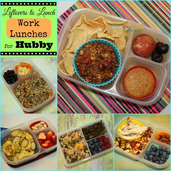 Leftovers for Lunch - packed lunches for work or school! by Biting the Hand That Feeds You
