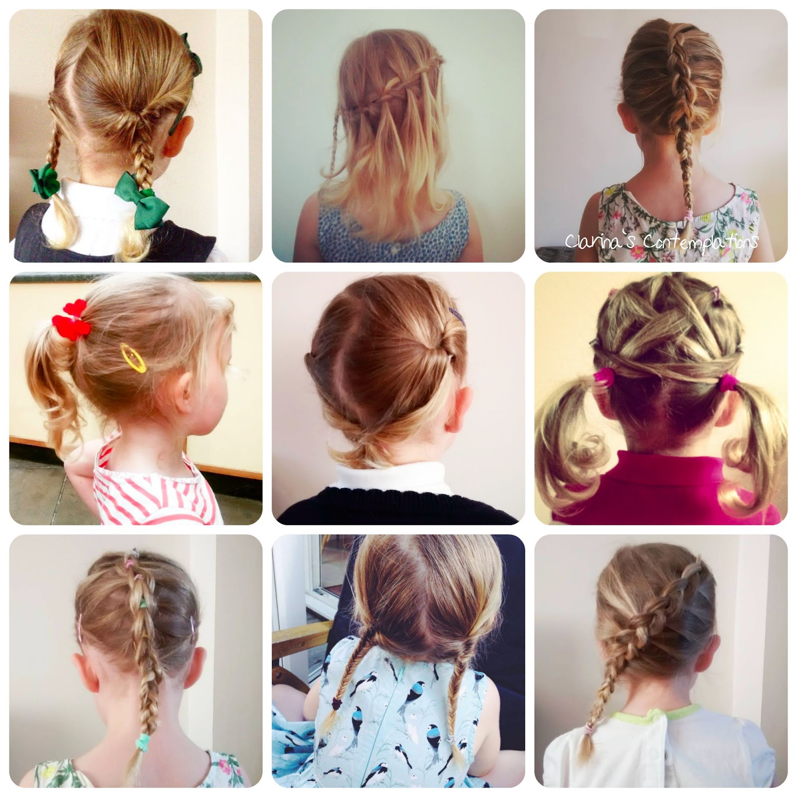Clarina\'s Contemplations: 10 Lovely Little Girl Hairstyles...