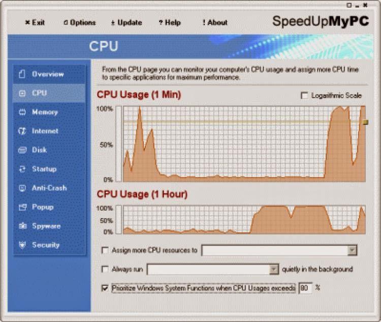 SpeedUpMyPC برنامج تسريع الكمبيوتر سبيد بي سي