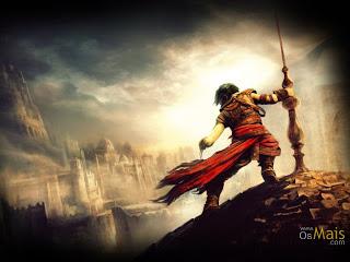 Guerreiro no topo do objetivo, simbolizando o aspirante