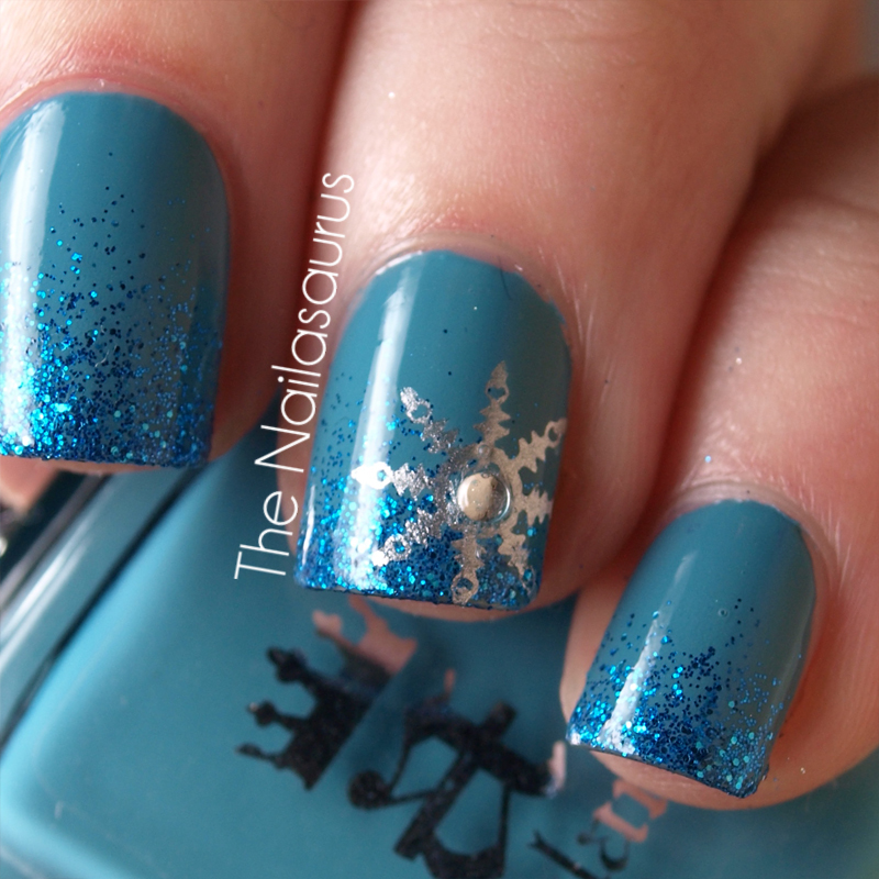 12 Days of Christmas Nails: Day 1