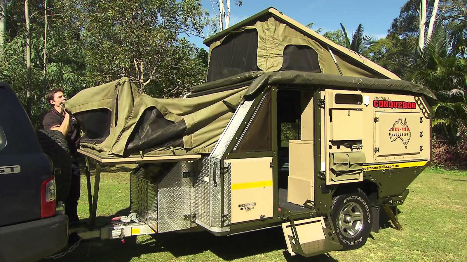 Creative Trakmaster Gibson Review  Camper Trailer Australia