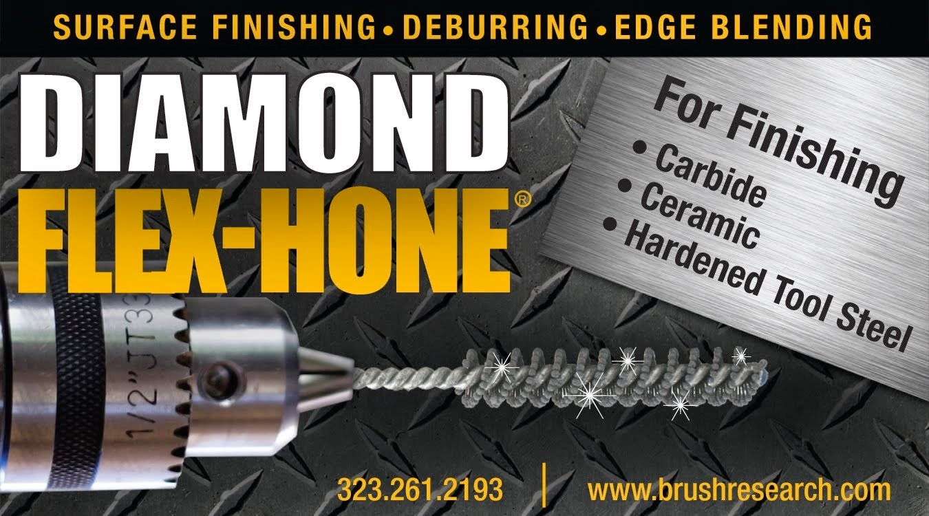 diamond honing tools for surface finishing hard materials flex diamond flex honereg tools from brush research manufacturing brm are designed for the inner diameter id surface finishing of parts made of hard materials