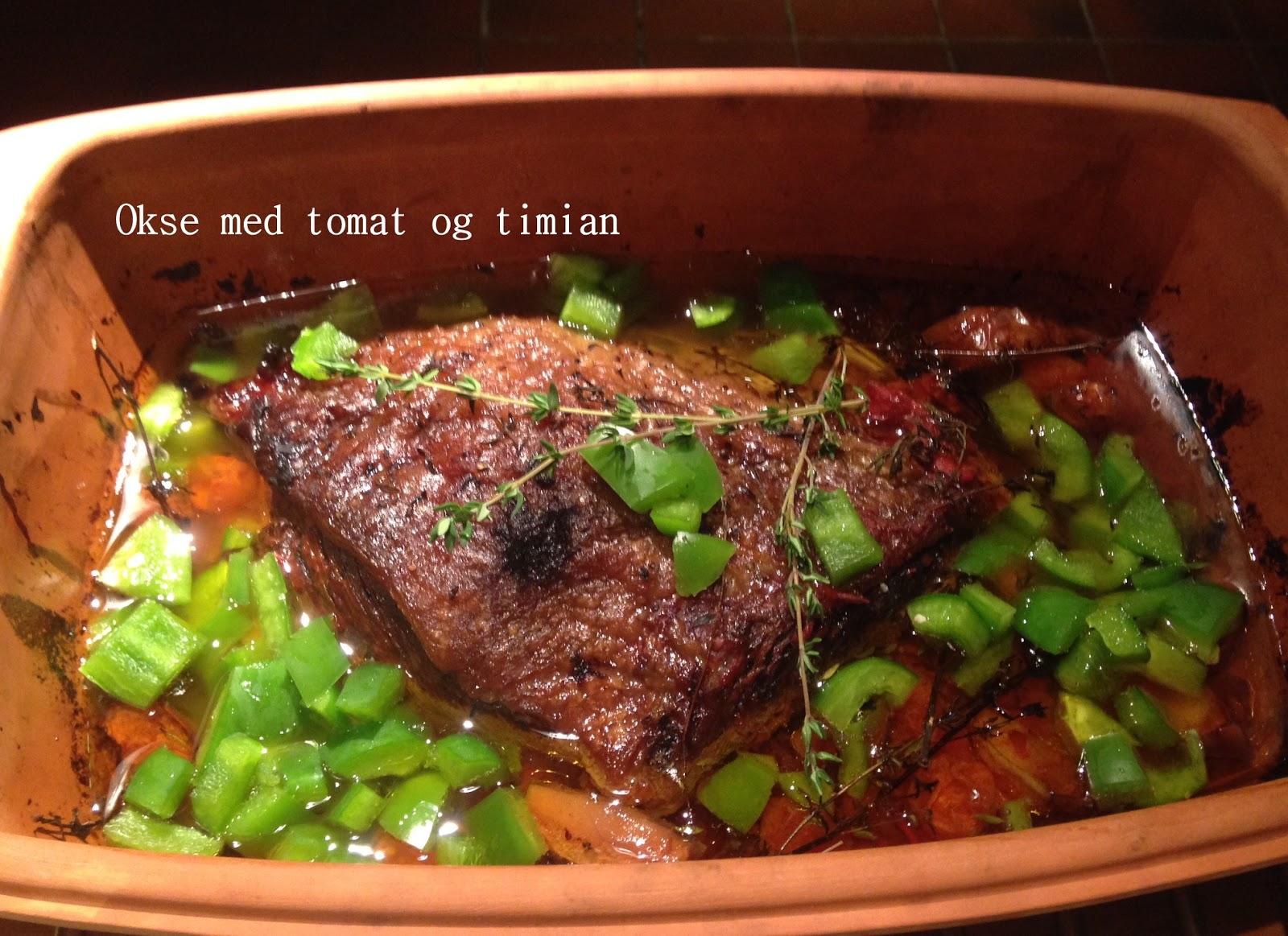 bagte rødløg med timian