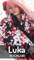 Cosplay Megurine Luka - ver. Original de Vocaloid por Kessy