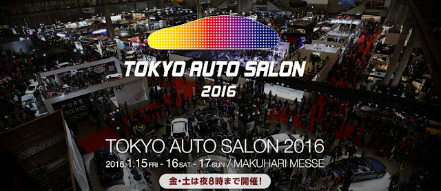 Tokyo Auto Salon 2016 at Makuhari Messe, Chiba