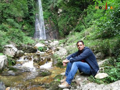 Gaurav with beautiful backdrop