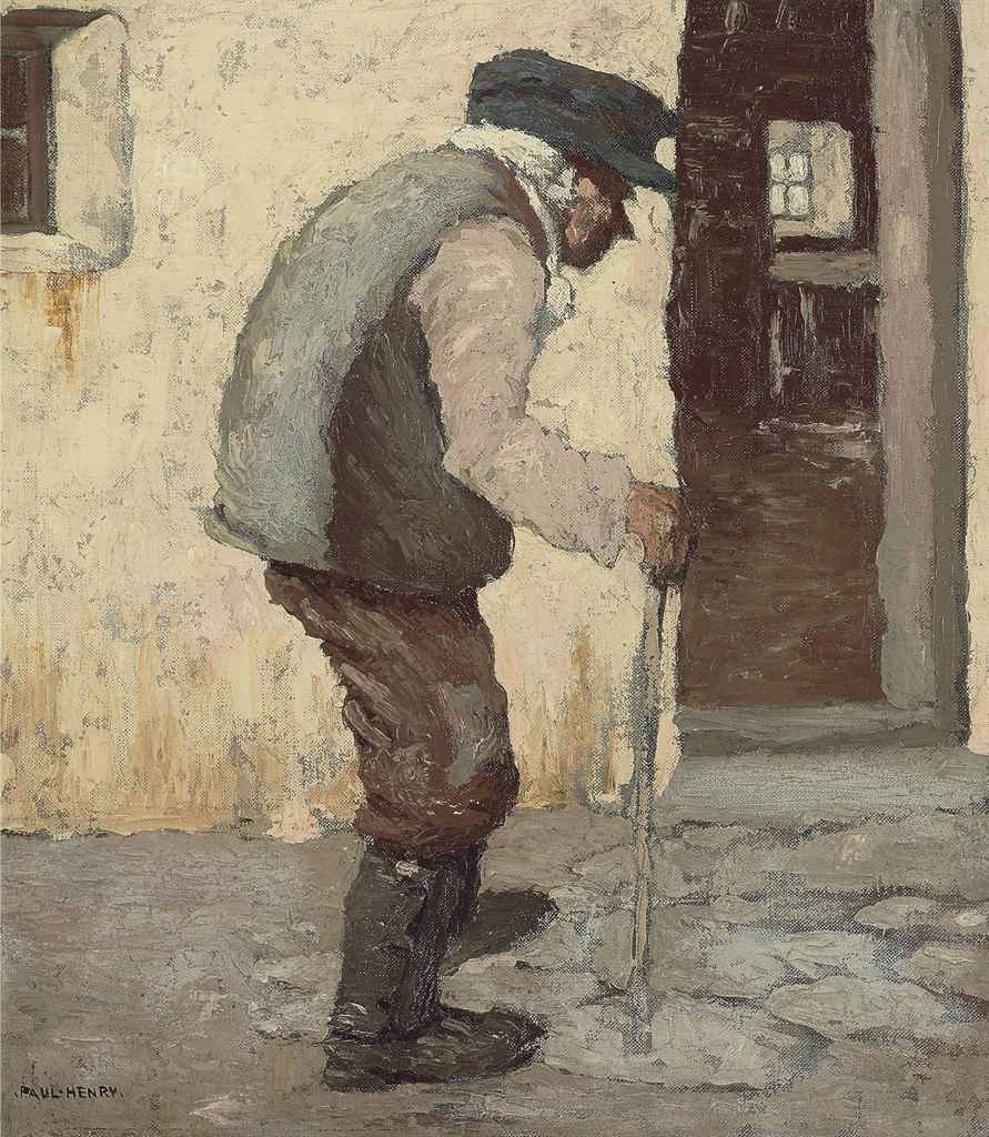 Paul  Henry  R.H.A.  An  old  man  from  connacht