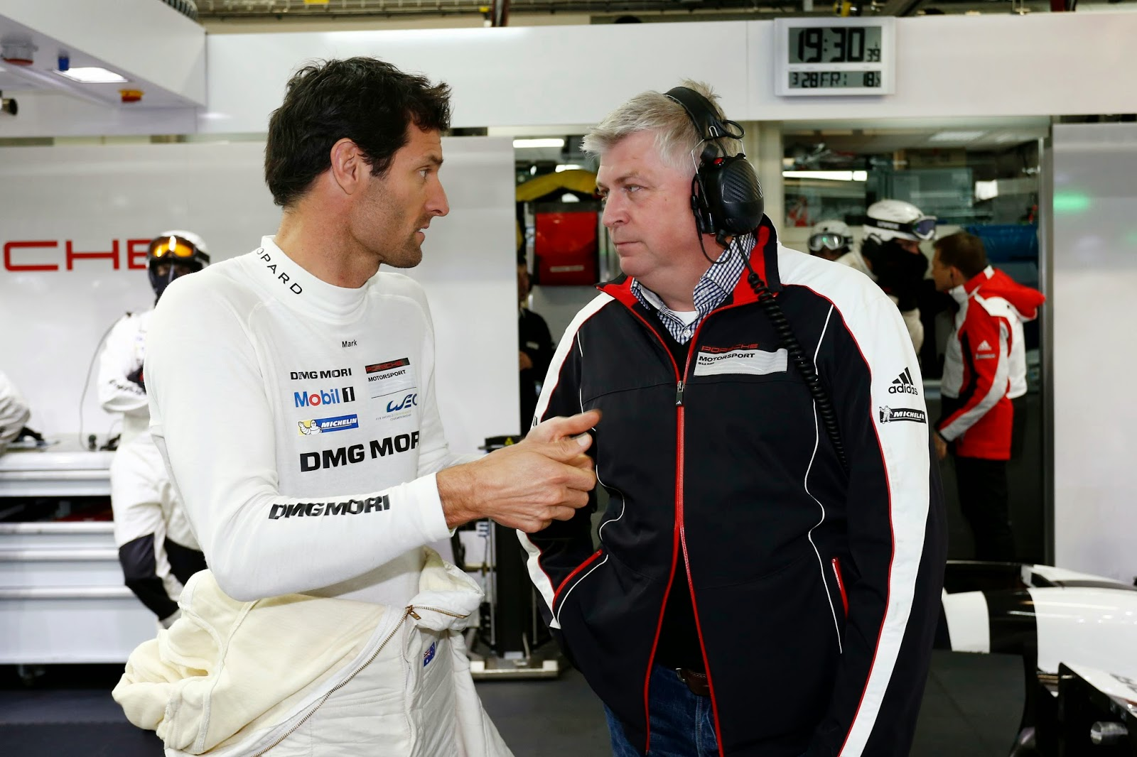 Mark Webber - Porsche 919 Hybrid Testing At Paul Ricard