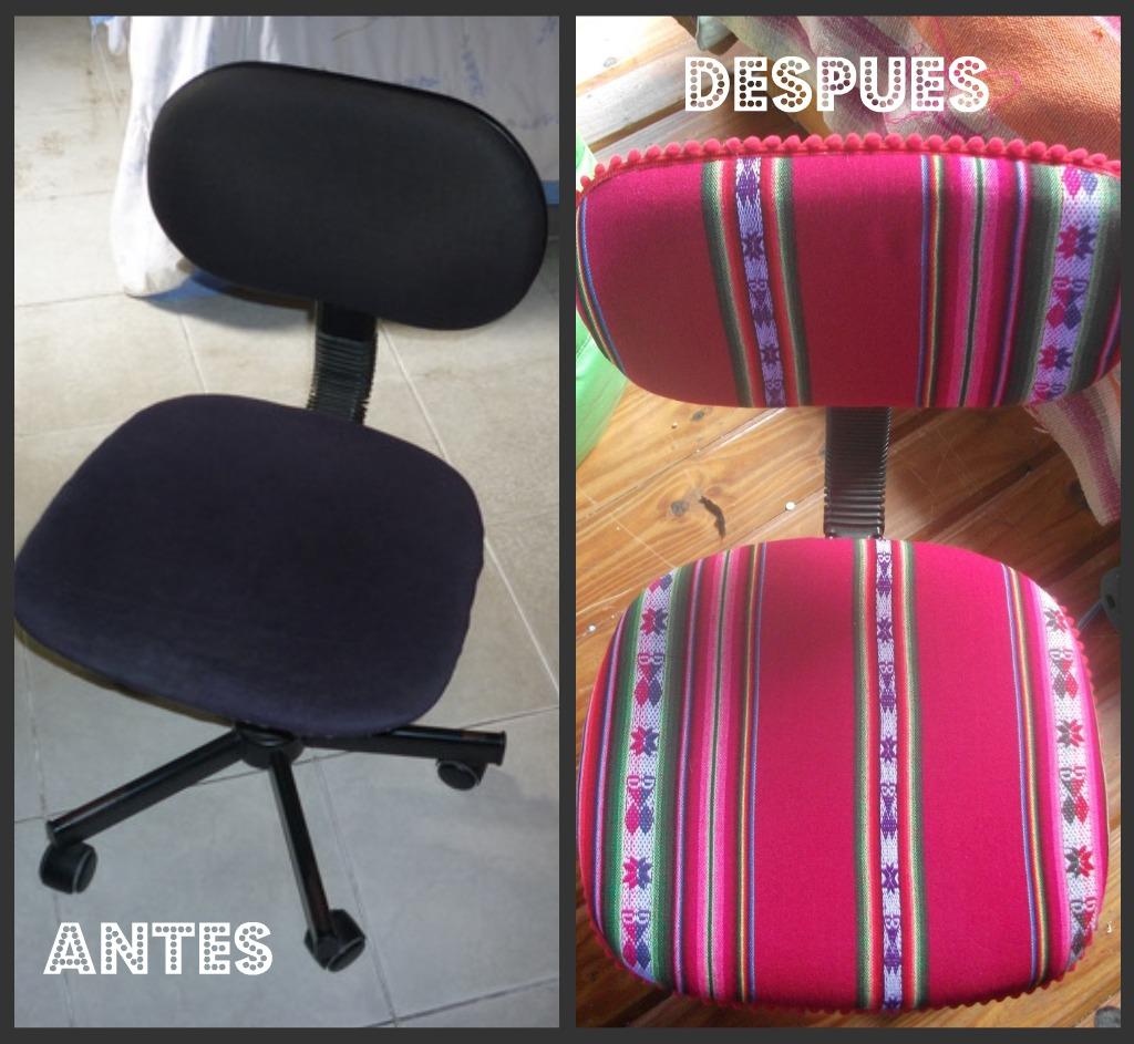 Antes y despues silla para computadora for Silla de computadora