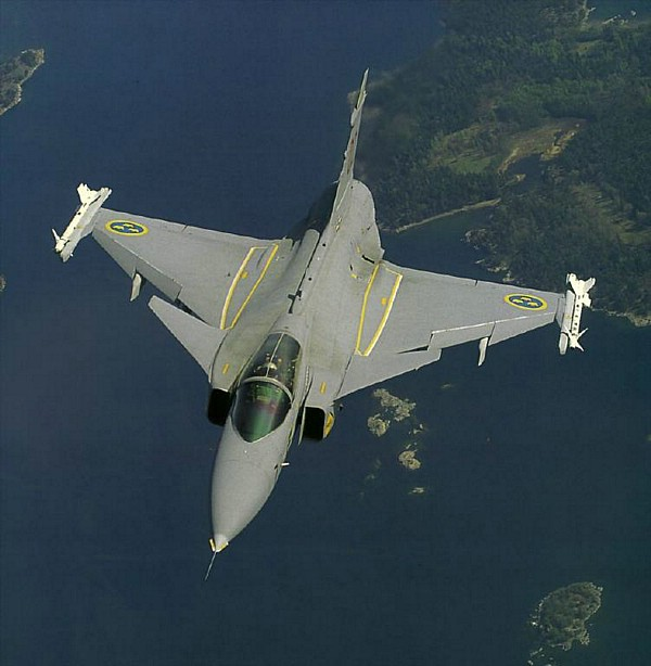 Saab JAS 39 Gripen Sweden Fighter Jet