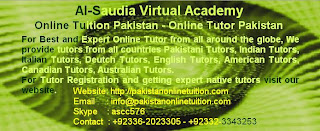 Online Tutors Academy Pakistan