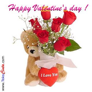 Foto Gambar Kata - Kata DP BBM Valentine