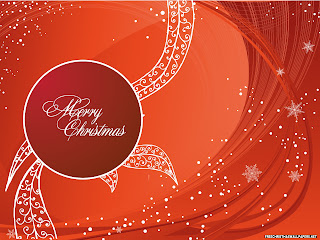 Free Download Merry Christmas Greeting Wallpaper