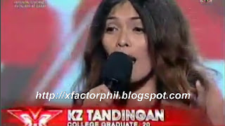 KZ Tandingan,x factor, philippines, audition