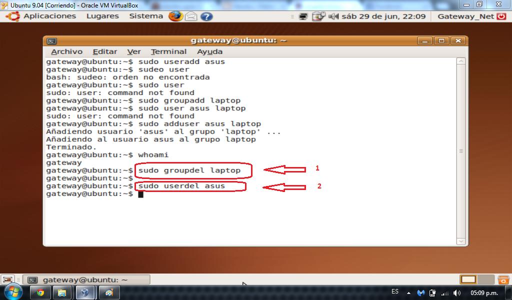 Administracin de usuarios y grupos Redes Linux
