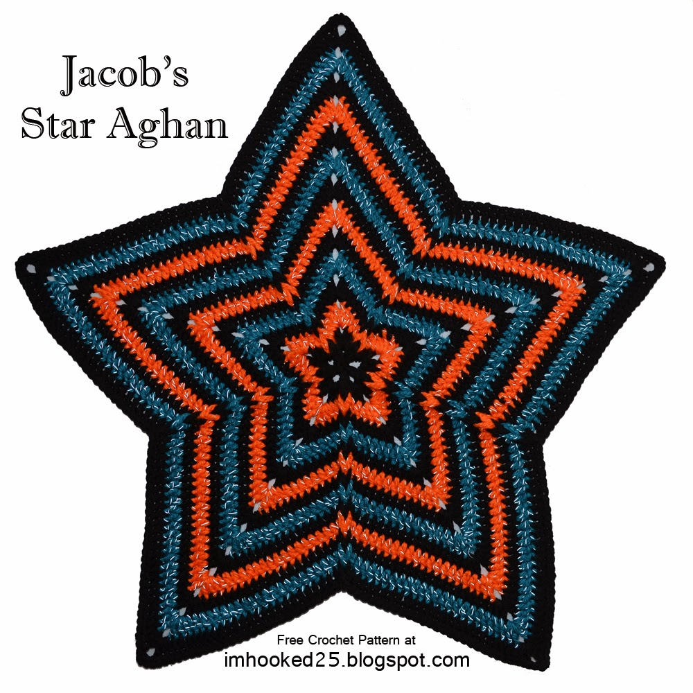 Crochet pattern for star afghan dancox for jacobs star afghan crochet pattern bankloansurffo Image collections