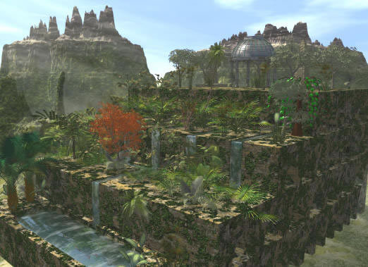The Hanging Gardens Of Babylon Spice Up World