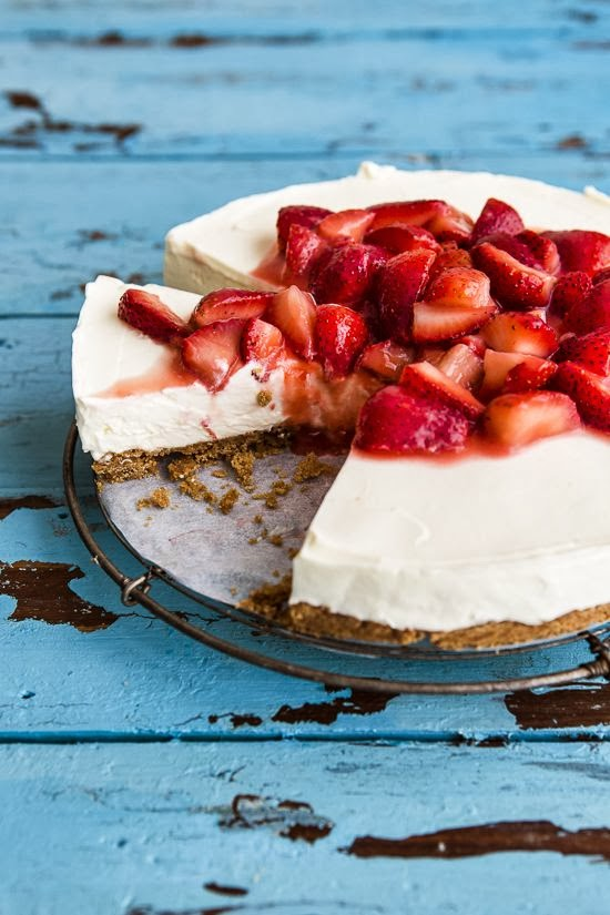 cheesecake alle fragole / strawberry cheesecake
