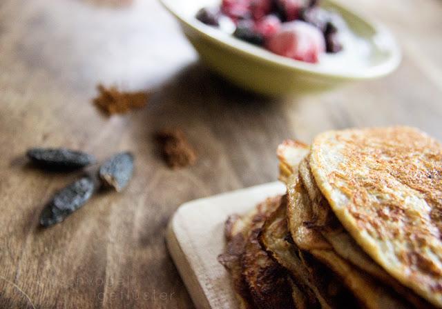healthy pancakes banana low carb veggie detail