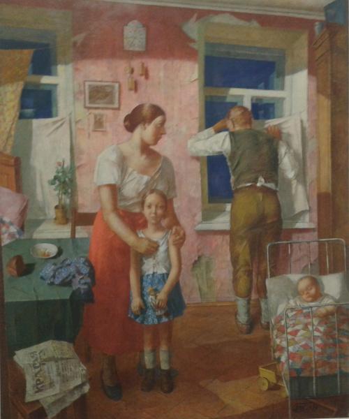 Dwarsbongel we300 indrukken 2 drents museum de sovjet mythe - Schilderij ingang en gang ...