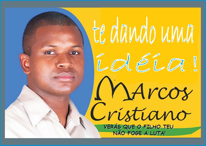 Um Jovem de Decisão  MARCOS CRISTIANO   te dando uma idéia.