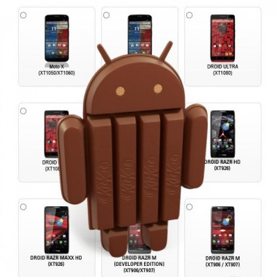 Motorola Lakukan Pembaruan ke Android 4.4 KitKat di Seri Lama
