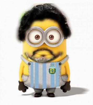 Minion maradona - Futbol Parodia