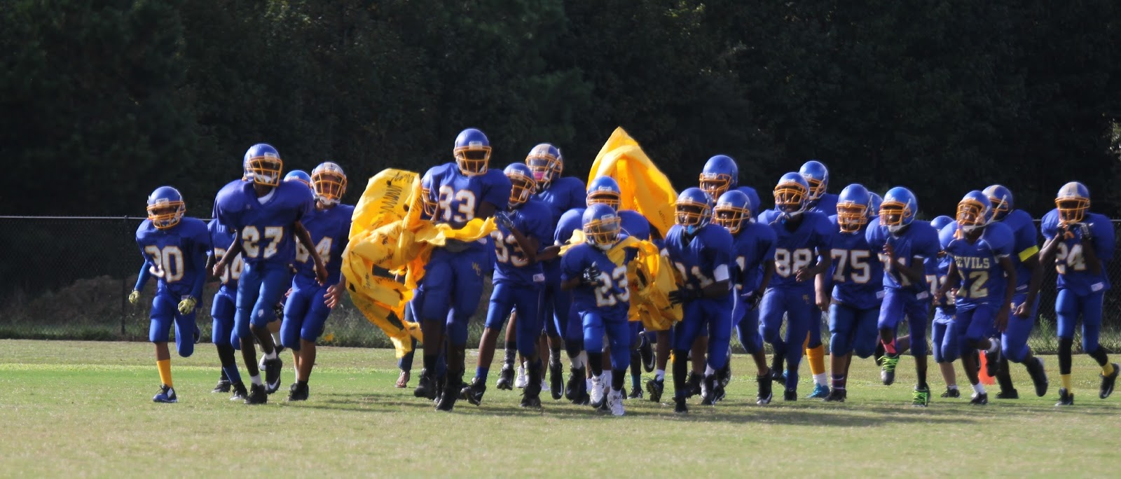warren county screaming devils: middle school devils fall to thomson