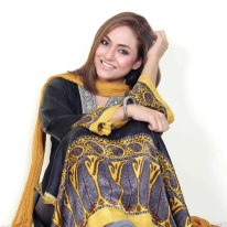 Nadia Khan Recent lawn Images