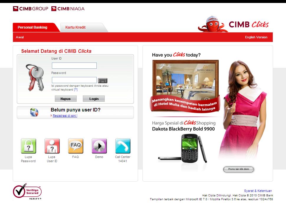 Email Phishing Malware Menyerang Nasabah Bank Cimb Niaga