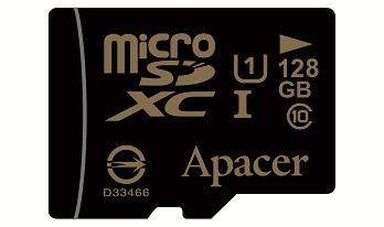 Apacer 128GB microSDXC Memory Card