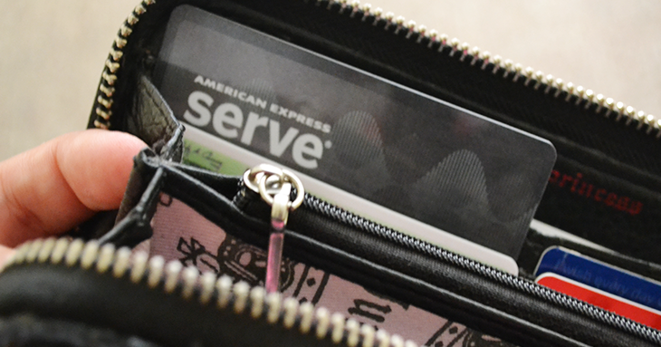 American Express Serve Cash Back Card♥ - Alyssa Collazo