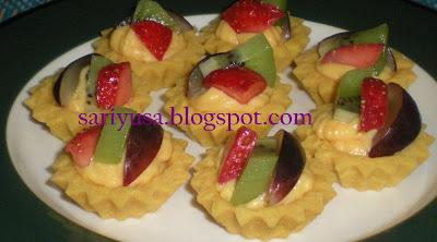 RESEPI FRUIT TARTLETS