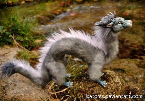 27-Silver-Aqua-Dragon-Spirit-Lisa-Toms-Maker-of-Mythical-Creatures-and-Pet-Dolls-www-designstack-co