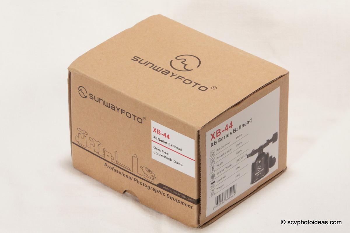 Sunwayfoto XB-44 box