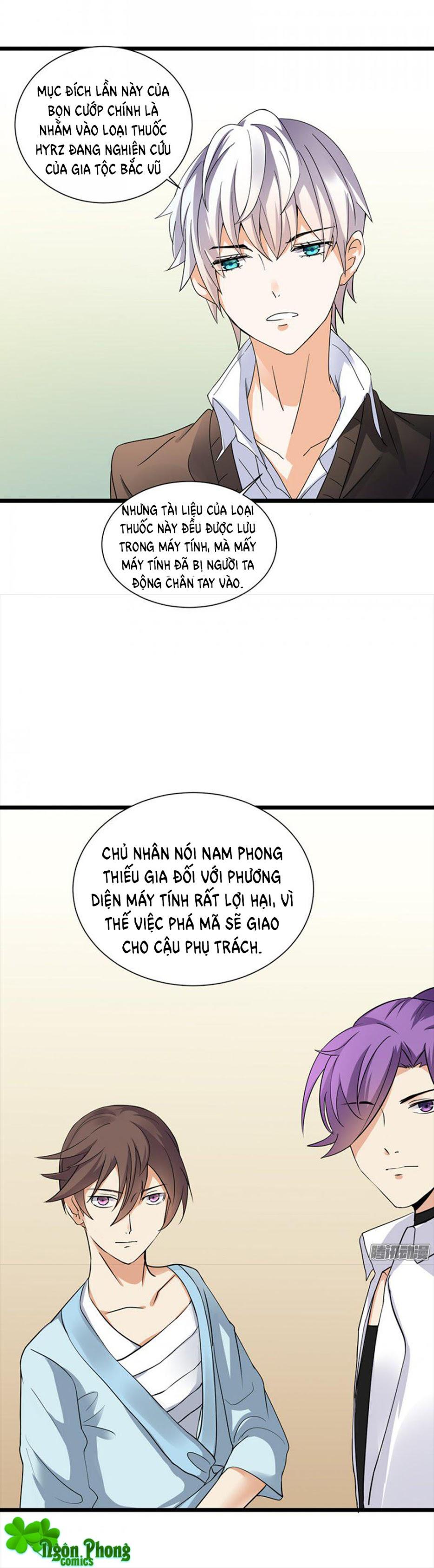 Nhật Ký Dạy Dỗ Của Gia Tộc Đáng Yêu trang 15