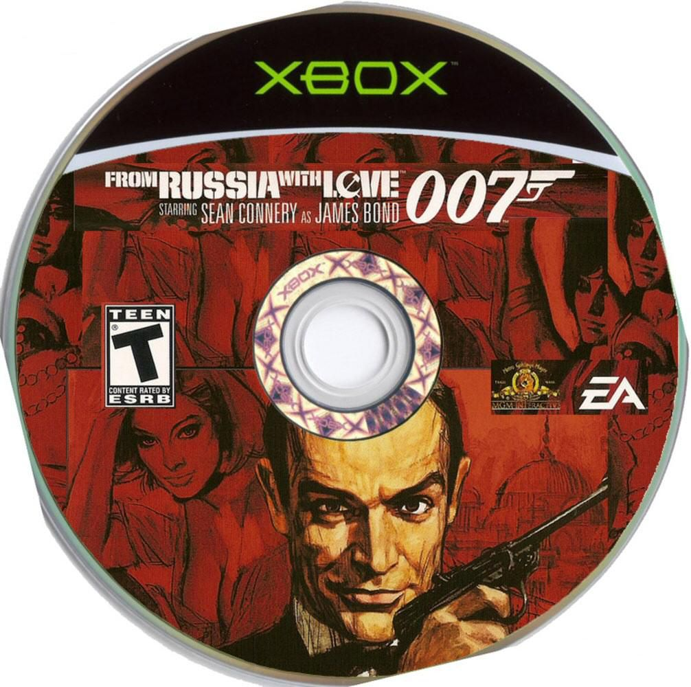 Label 007 From Russia With Love Xbox