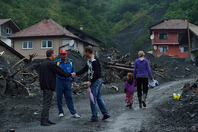 Topčić polje Alluvione Bosnia Erzegovina