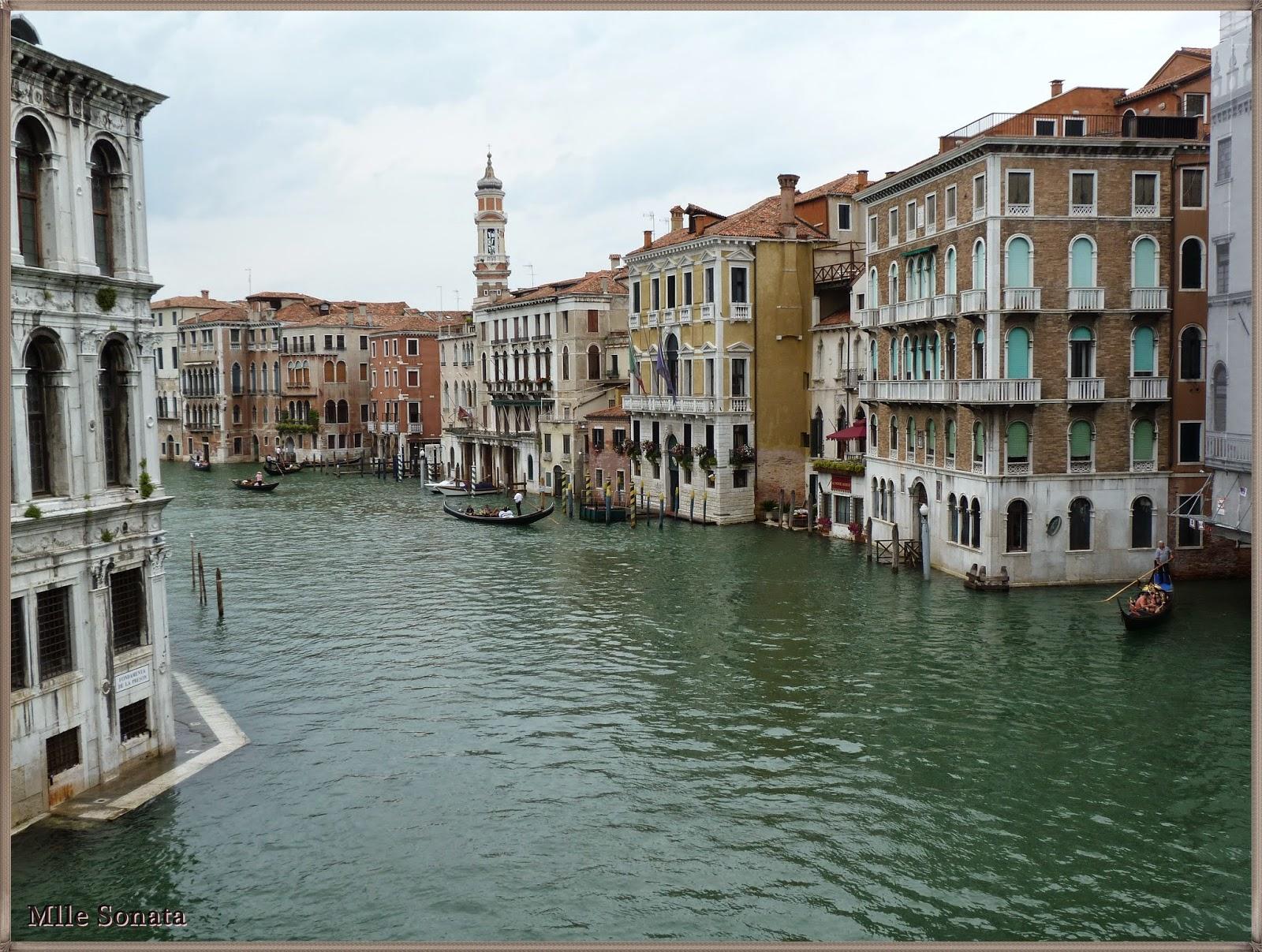 Voyage Italie Venise pont Rialto