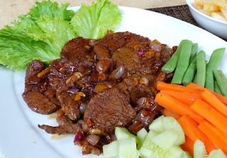 Menu Ramadan Resep Masakan Bistik Daging